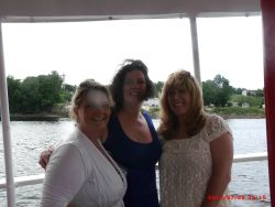 Randi on the River Cruise